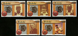 Barbados 1988 Scott #719-722 Mint Never Hinged Set