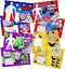 Pack-of-12-Superhero-Fun-and-Games-Activity-Sheets-Party-Bag-Books-Fillers thumbnail 2