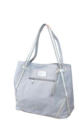 Rieker Damen Tasche Handtasche Shopper silber