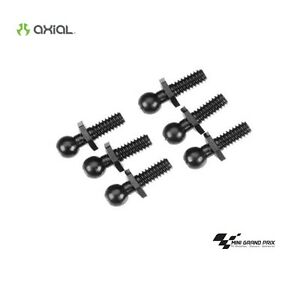 Axial-BALL-4-40-4-3X13MM-BLK-6-Pieces-Ballheads-AXA1333