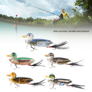 3D-Topwater-Suicide-Floating-Duck-Topwater-Bass-Muskie-Pike-Fishing-Lure