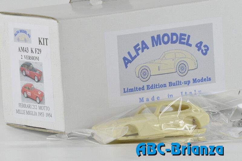 AM43KF29 FERRARI 212 EXPORT MOTTO MILLE MILES 1954   553 MARIE-BÉNÉDICTE-MILLE M