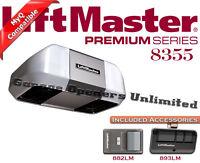 Liftmaster 8355 - Premium Series 1/2 Hp Belt Drive Security+ Garage Door Opener