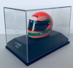 RARO-Helmet-Irvine-1995-Arai-Jordan-Silverstone-1-8-Minichamps-Formula-1-NUOVO