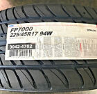 4 New 225 45 17 Ohtsu FP7000 Tires