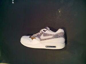 Details about New Nike Women's Air Max 1 SE White & Gold Running Gym Shoes 881101 100 Size 10