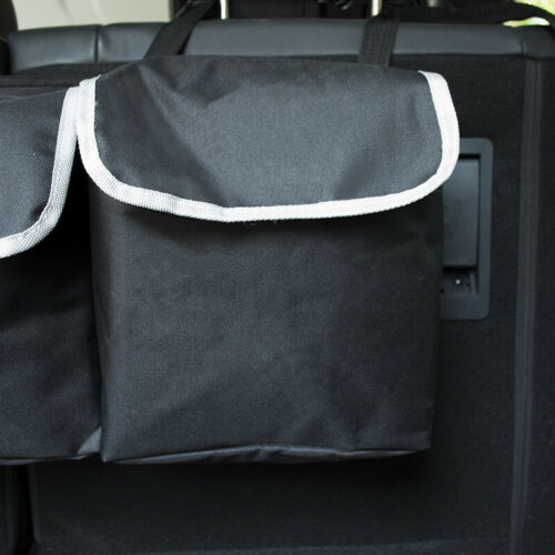 High Capacity Portable Hanging Organizer Storage Bag For Car SUV Trunk Backseat