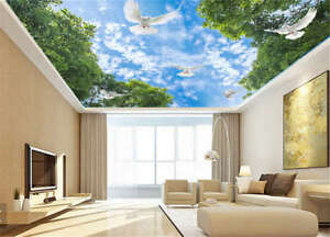 Details About Abstract Sober Sky 3d Ceiling Mural Full Wall Photo Wallpaper Print Home Decor