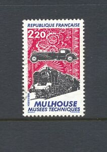 France-1986-SG-2746-Railway-Technical-Museum-Used