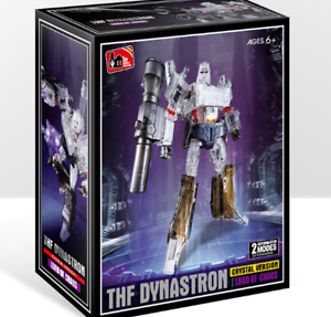New, Deformation THF-03T transparent version of MP36 megatron head and chest toy