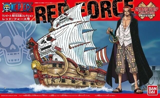 BANDAI ONE PIECE MODEL KIT GRAND SHIP COLLECTION #04 RED FORCE NEW