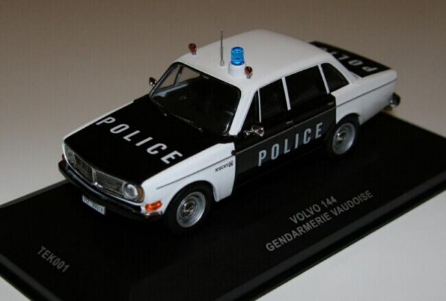 descuento online Volvo 144 ''Police Vaudoise'' (IXO (IXO (IXO 1 43   TEK001)  suministro de productos de calidad