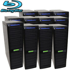 150 SATA Blu-ray CD DVD Disc Burner Daisy Chain Duplicator Multi Tower Writer