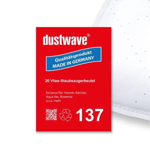 Hobby 33//36 1-20 Staubsaugerbeutel für Aqua Vac AZ90532 Industrial 3000//3100