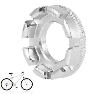 8 Way Spoke Key Bicycle Cycle Bike Wheel Rim Nipple Spanner Wrench Useful Tool S
