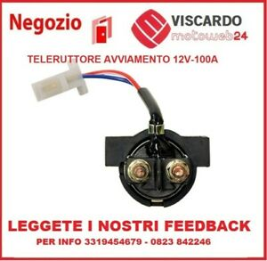 Rele di avviamento Starter Relay compatibile con Aprilia Atlantic Dorsoduro Caponord Leonardo Mana Pegaso RST Scarabeo Sportcity Tuono