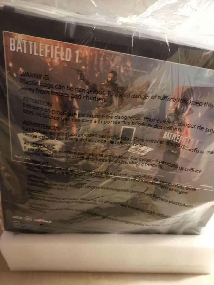 The Battlefield 1 - Collector's Edition Contains:, PS4