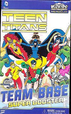 Wizkids Heroclix 1 Booster Teen Titans Team Base Super Booster