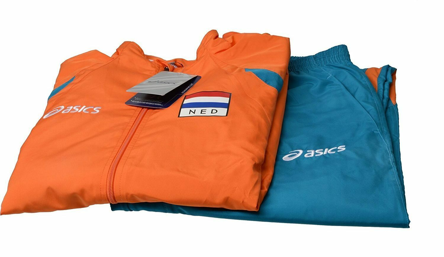Asics 599406S 0532 Team Warmup Holland Herren Herren Herren Training Fitness Suit Anzug XXXL 062ef5