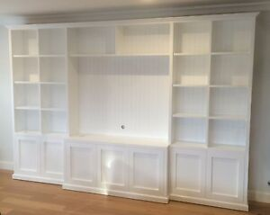 Kellyville Classic Integrated Wall Unit Bookshelf Living Room Furniture Ebay