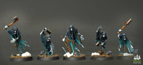 COMMISSION ** pro painting Chainrasp Hordes Nighthaunt