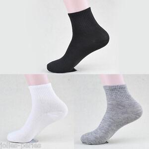 CA-5Pairs-Men-Boys-100-Cotton-Sports-Socks-Boys-Casual-Anklet-Running-Socks-DS