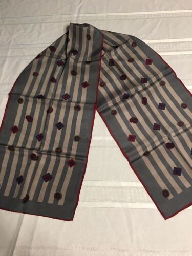 Albert Nipon vintage silk Scarf