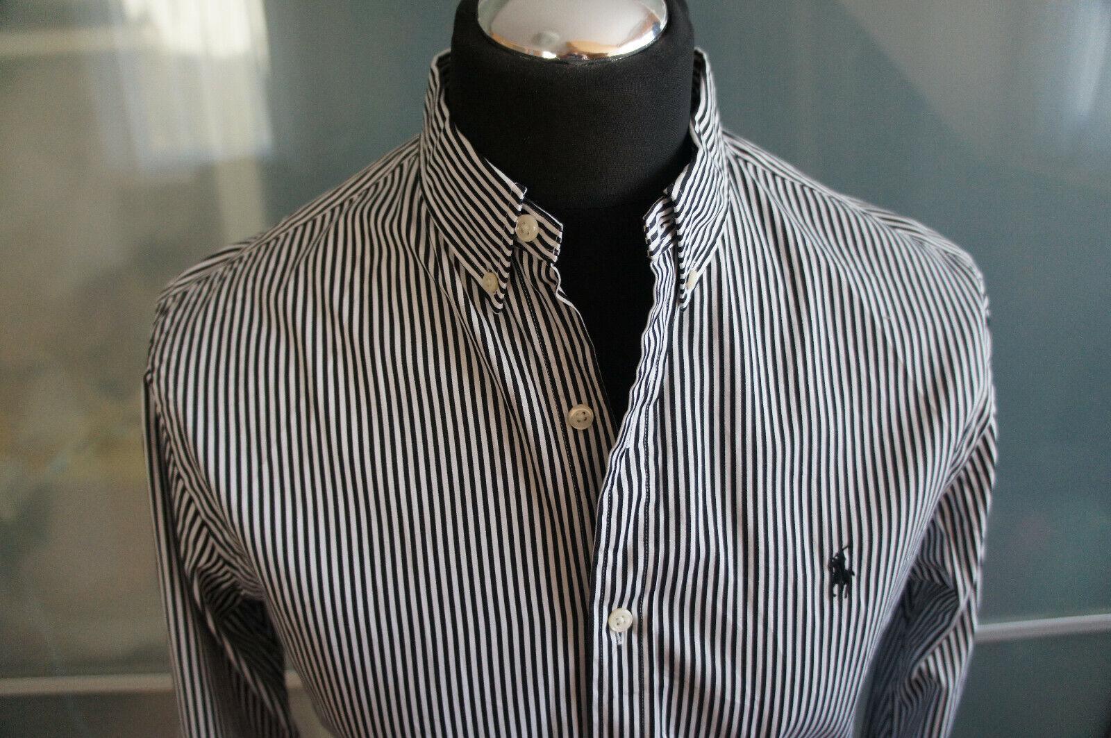 Ralph Lauren Hemd Herren Oberteil Shirt Kragenw. 39 Baumwolle neu | Angenehmes Gefühl