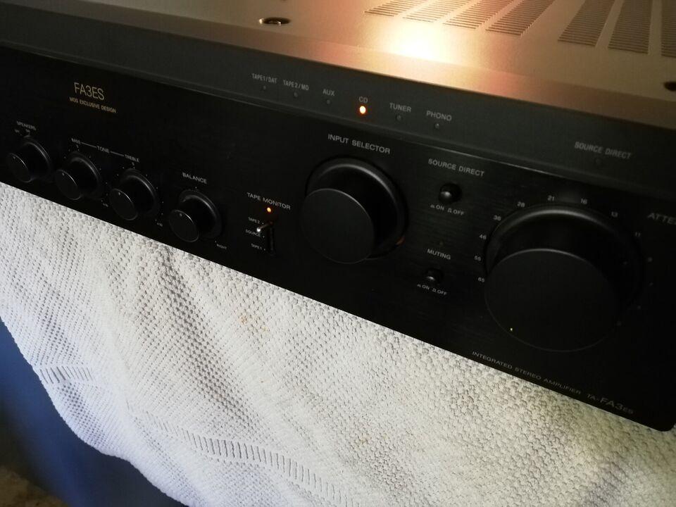 Forstærker, Sony, FA3ES
