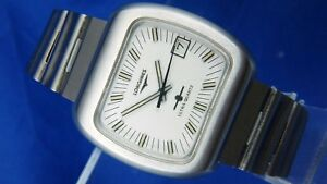 31a59746855 Image is loading Vintage-Longines-Ultra-Quartz-Watch-1970s-Extremely-RARE-