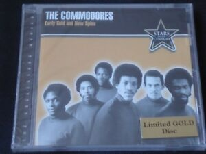 The-Commodores-Early-Gold-And-New-Spins-SEAL-ED-NEW-CD-2000-LIONEL-RICHIE