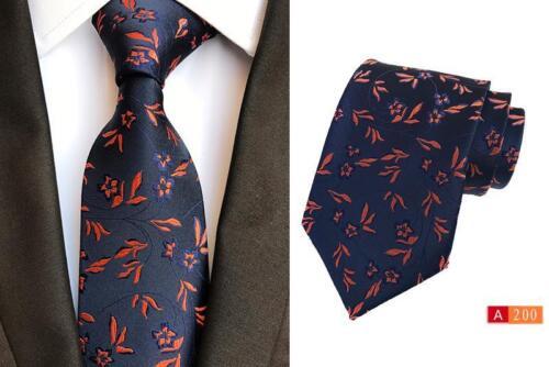 Con Navy Cravatta Seta Artigianale Motivo 100 8cm Blu Larghezza Arancione Wt7aATT