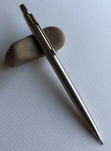 Vintage-Parker-Mechanical-Pencil-Classic-EDC-Slim-Stainless-Flighter-Working-USA