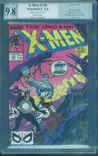 Uncanny X Men 248 PGX SS 9.8 1st Jim Lee Movie up CGC 9/89