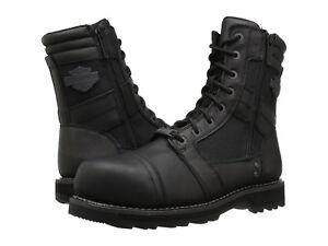 f967fe7ef5f Men Harley-Davidson Boxbury Composite Toe D93496 Black Leather 100 ...