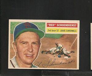 5050-1956-Topps-165-Red-Schoendienst-GB-Ex-Mt