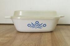 Vintage Corning Ware P-41-B Blue Cornflower Petite 3/4 cup Pan w/ Lid