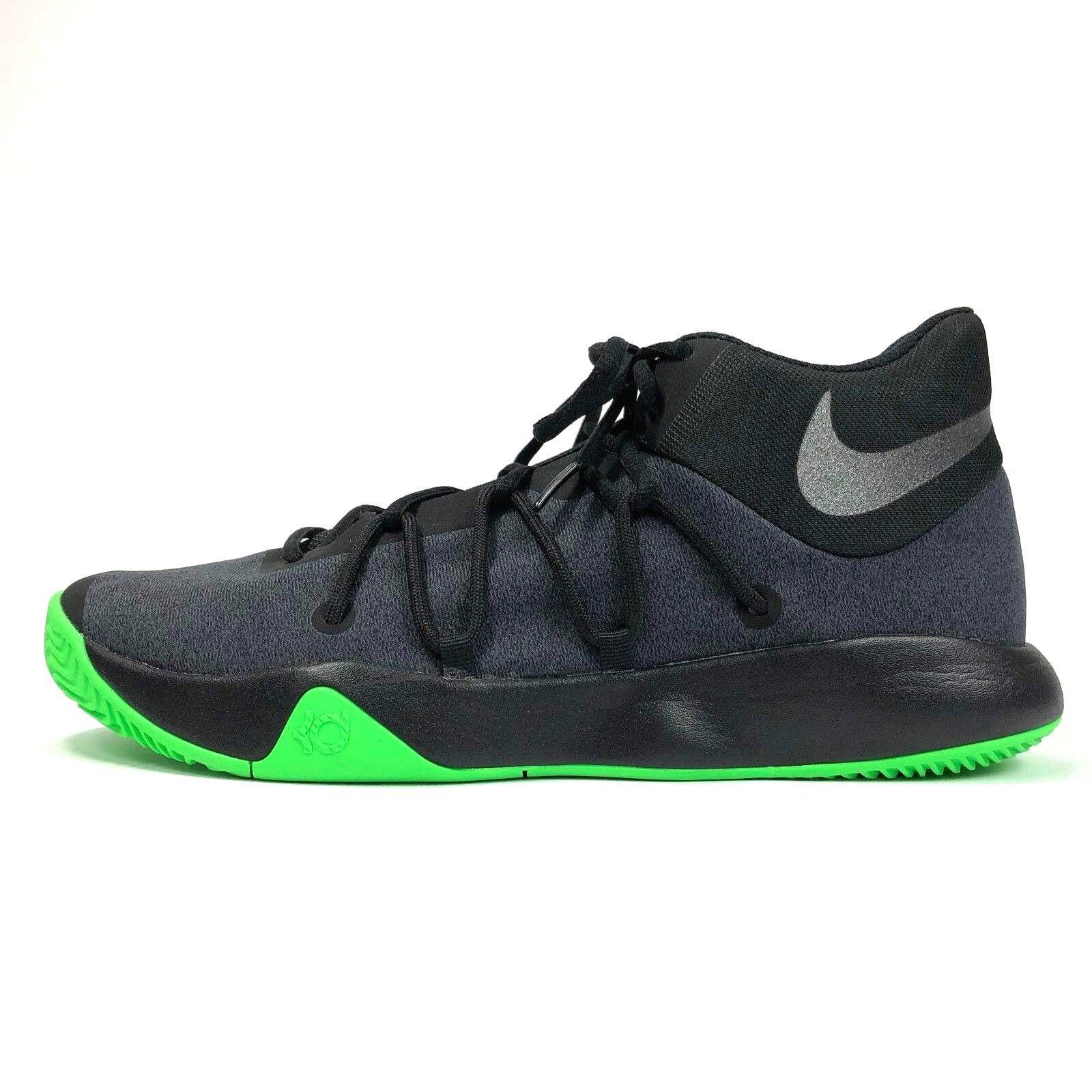 Nike KD Trey Trey KD 5 V Kevin Durant 897638 003 Black Rage Green Zoom Air Sz 10.5 NWOT 5b79eb