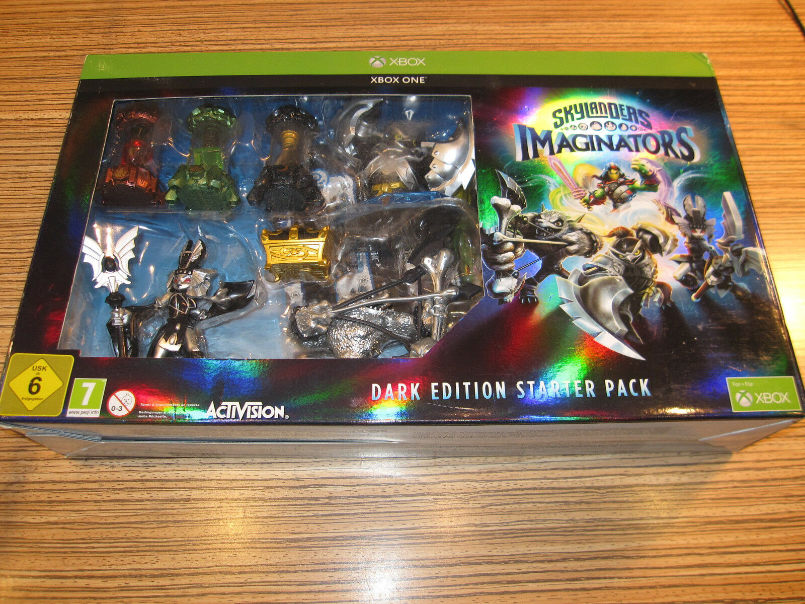 X Box One  Skylander Skylanders Imaginators Dark Edition + Extras > Ungebraucht