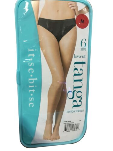 it-se-bit-se  Lowcut  Ladies Panties 6-pak  M size USA Color May Vary