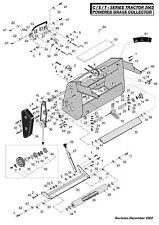 Genuine-Countax C Series C550H C600H C800H Final Brush Drive BELT 22832800-453#V