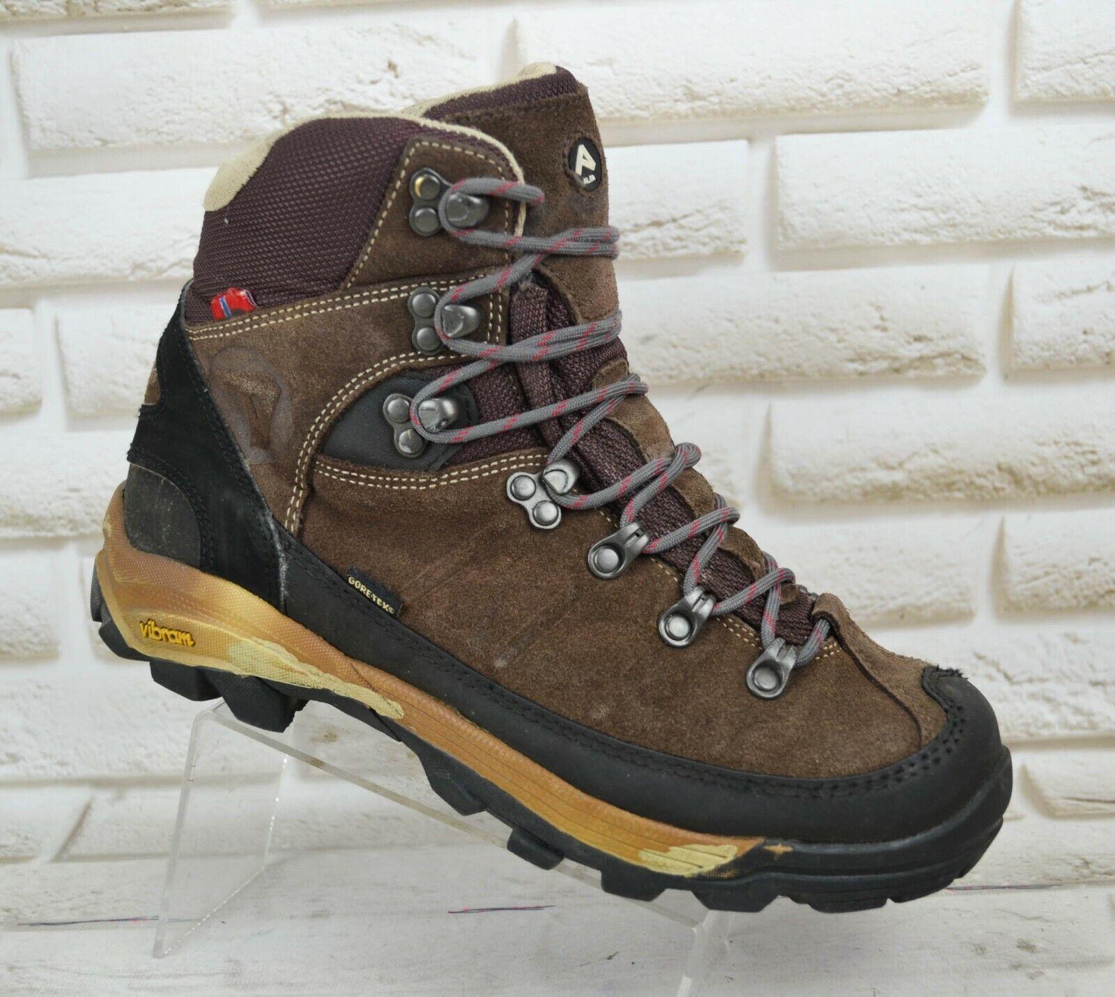 ALFA VIDDA GT damen Leather Hiking Outdoor Waterproof Stiefel Größe 7 UK 40 EU