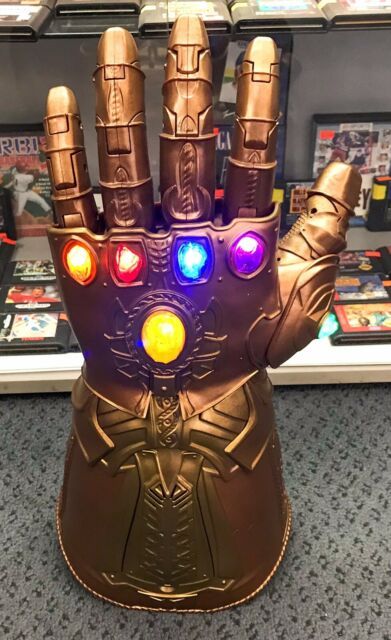 2007 Marvel Legends Thanos INFINITY GAUNTLET Articulated Electronic Fist Hasbro