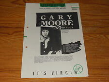 INFORMATION - IT'S VIRGIN 7/1987 / PROMO-HEFT MIT GARY MOORE, THE CULT, BENNATO