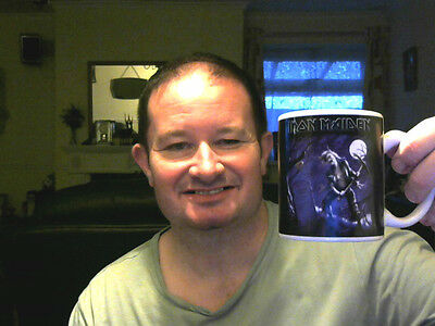 IRON MAIDEN MUG MUSIC THEMED GREAT GIFT