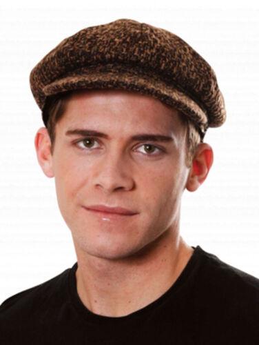 Les adultes tudor victorien chimney sweeper vieil homme plat cap fancy dress costume hat