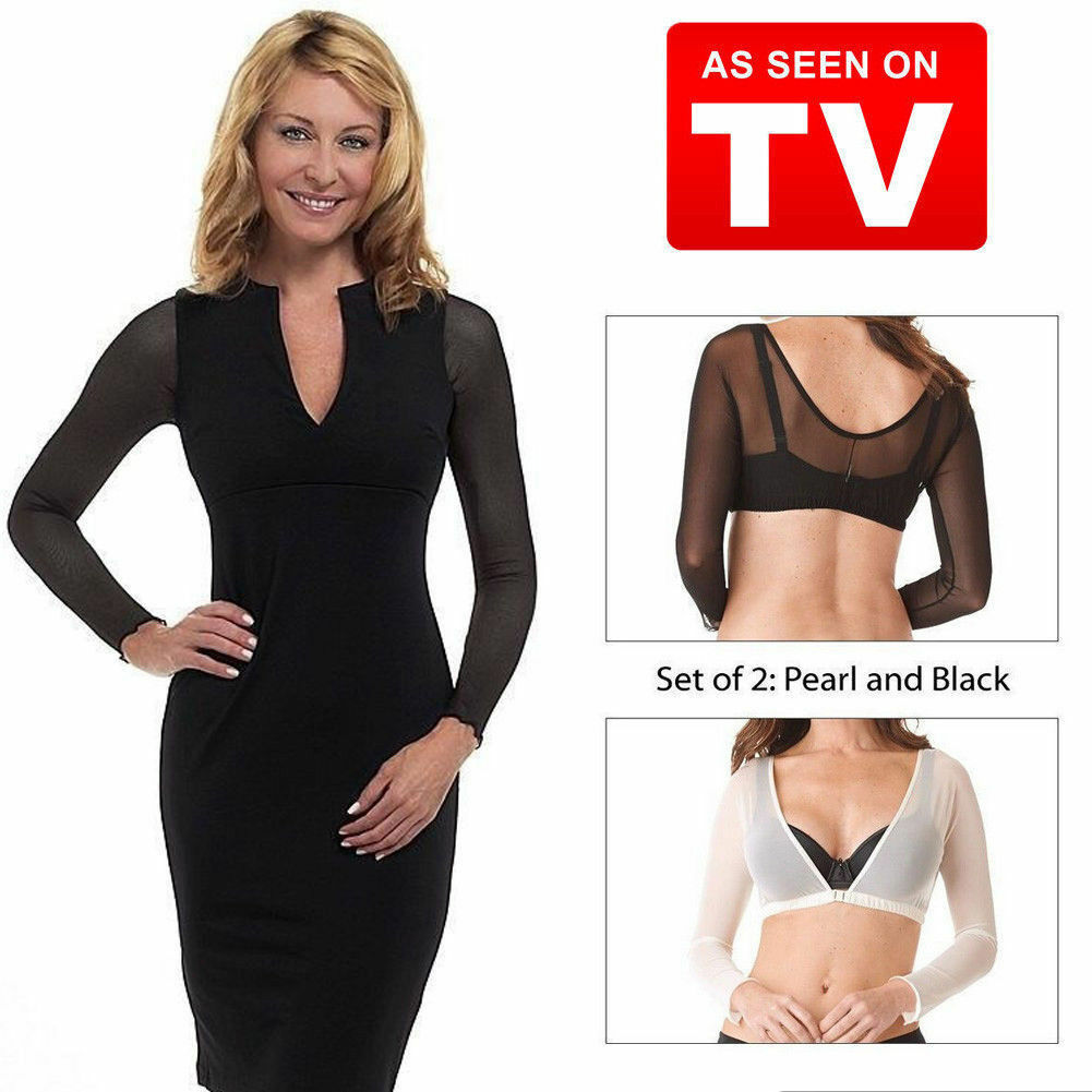 647f1619075ae Details about Arm Slimmer Shapewear Long Sleeve Top For Women Shaper  Amazing Arm Thinner