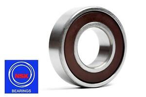 6205-25x52x15mm-DDU-C3-Rubber-Sealed-2RS-NSK-Radial-Deep-Groove-Ball-Bearing