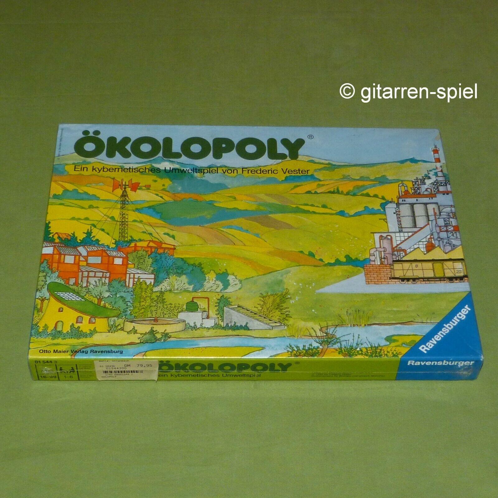 Nouveau dans film  ökolopoly ® un kybernetisches environnement jeu-Frougeeric vester © 1984