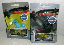 Dreamworks How To Train Your Dragons2 STORMFLY & TOOTHLESS MINI-FIGURES 2014 MIP